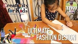 Creativity for Kids Ultimate Fashion Designer | Unboxing & Review