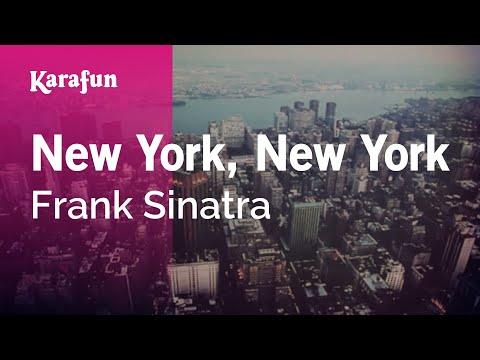 Karaoke New York, New York - Frank Sinatra *