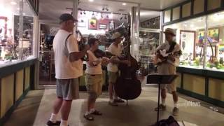 Bluegrass Music on Whiskey Row