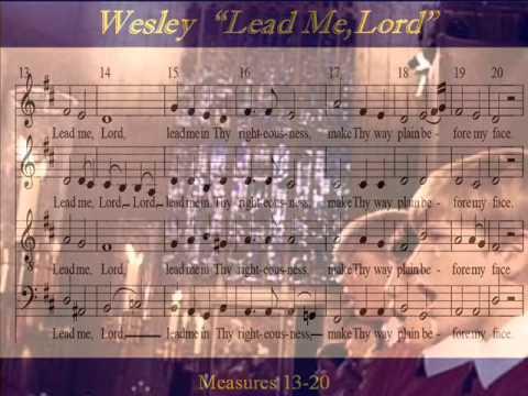 Wesley-Lead Me Lord