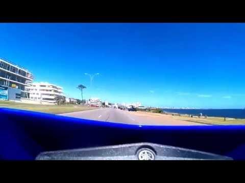 De Punta Colorada a Punta del Este - moto Yamaha XTZ 250