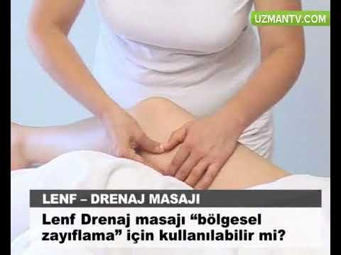 Lenf drenaj masajı bölgesel zayıflama için kullanılabilir mi?