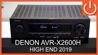 Denon AVRX2600H + 2600HDAB - High End 2019 - THOMAS ELECTRONIC ONLINE SHOP - AVRX2600