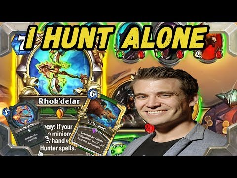 Kibler tries new I Hunt Alone No Minions Hunter (Kobolds and Catacombs)