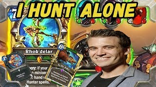 Kibler tries new I Hunt Alone No Minions Hunter (Kobolds and Catacombs)