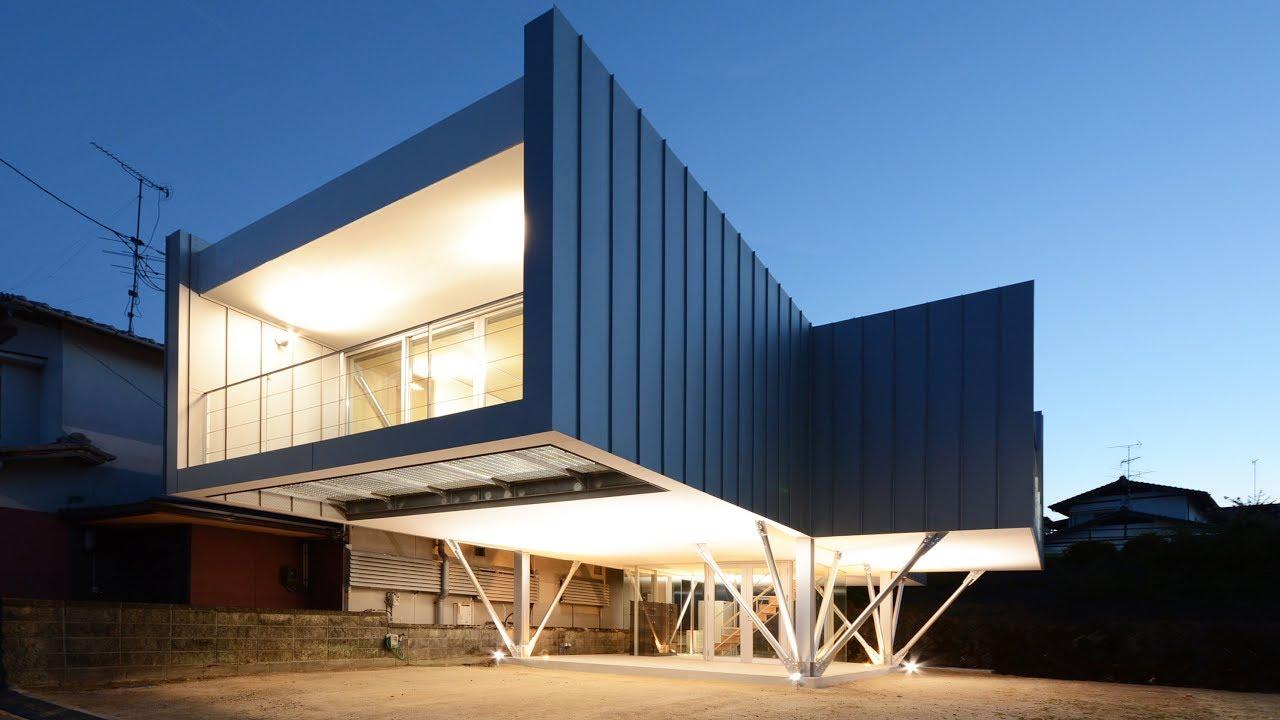 海を望むガレージハウス フラミンゴハウス 建築設計事務所 山口 広島