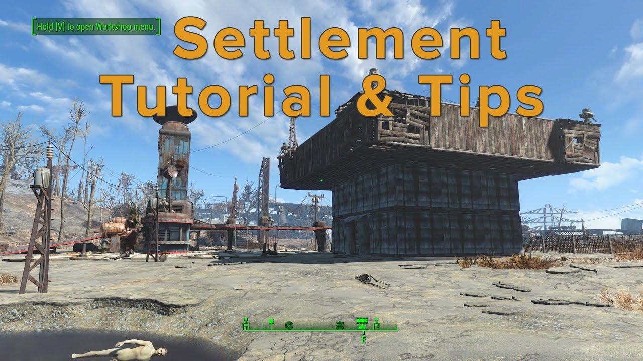 fallout 4 settlement guide map