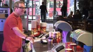 Freeview found Freddy at the CINEMA – funny reactions