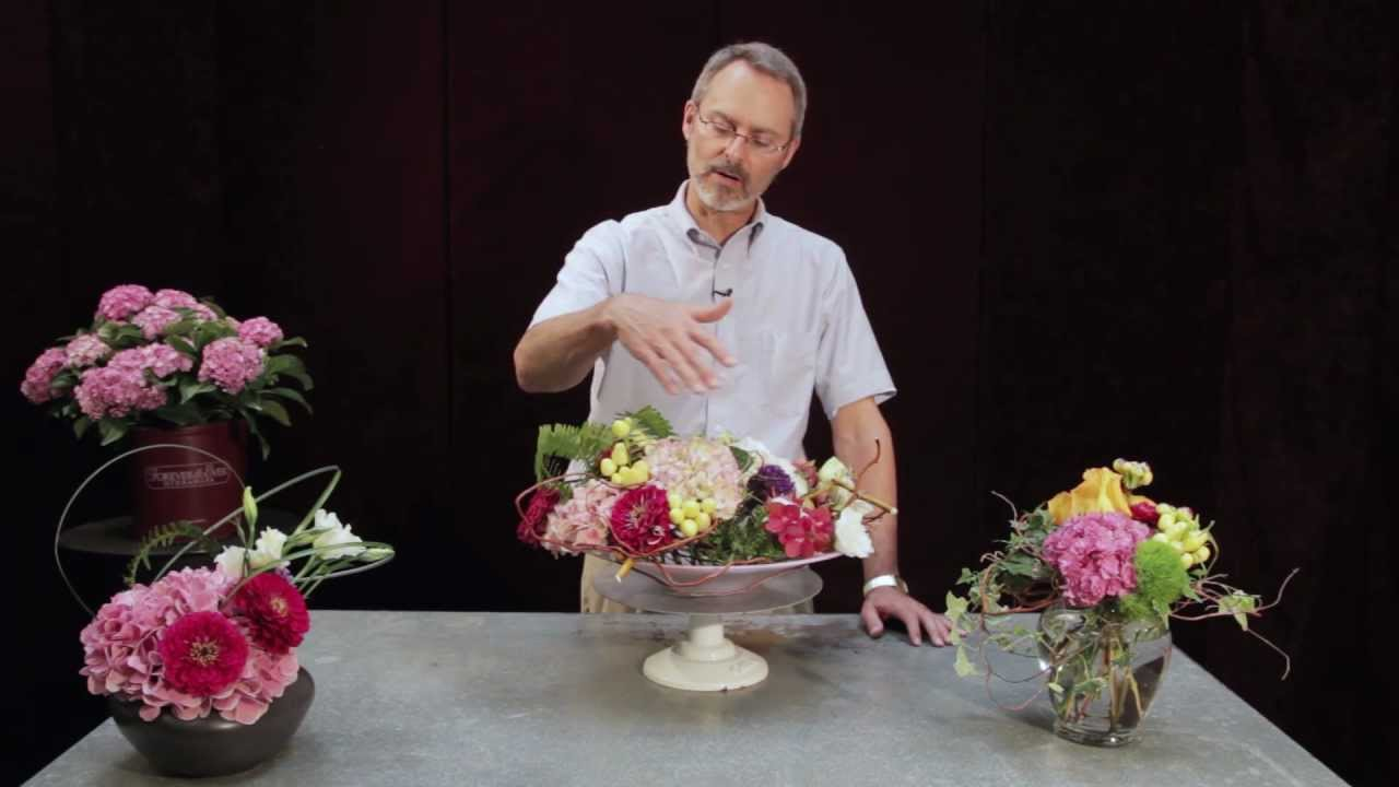 Forever & Ever Hydrangeas-Floral Arrangement Ideas - YouTube