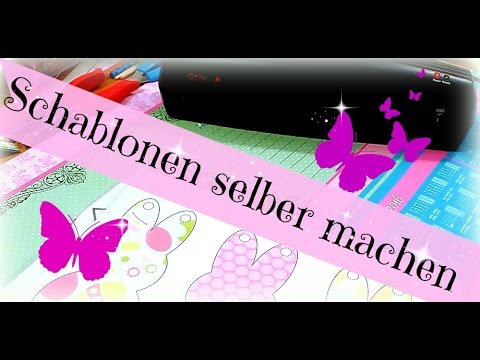 diy inspiration bastelvorlagen selber machen schablonen anfertigen aufbewahren youtube. Black Bedroom Furniture Sets. Home Design Ideas
