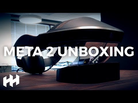Watch out HoloLens?! Meta 2 Unboxing!