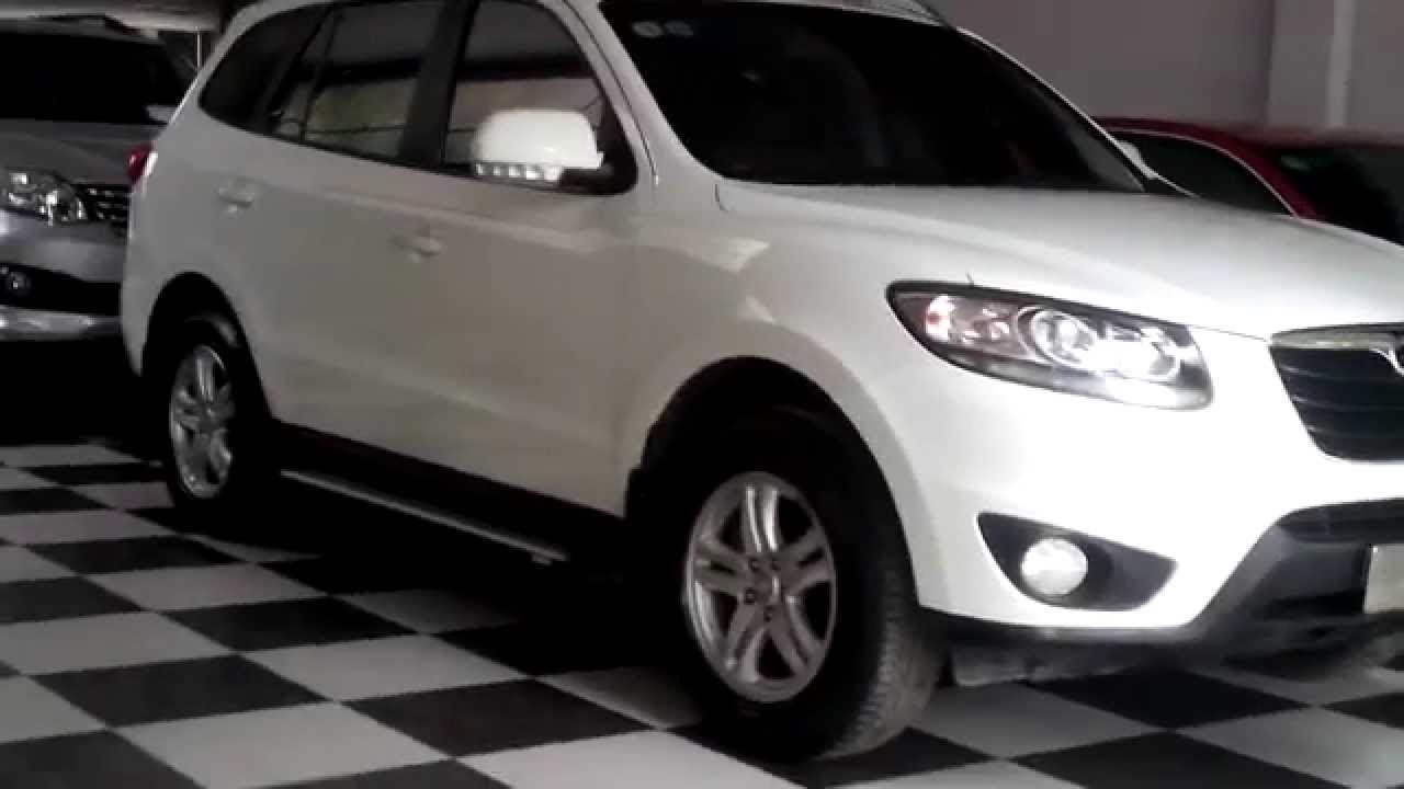 Ban O To Cũ Hyundai Santa Fe Cdri 4wd 2010 At Mau Trắng Gia 825 Triệu Youtube
