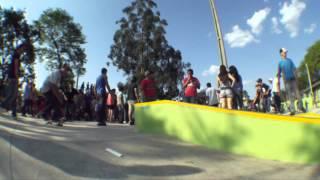 Inauguração da Skate Park de Pedro Juan Caballero PY