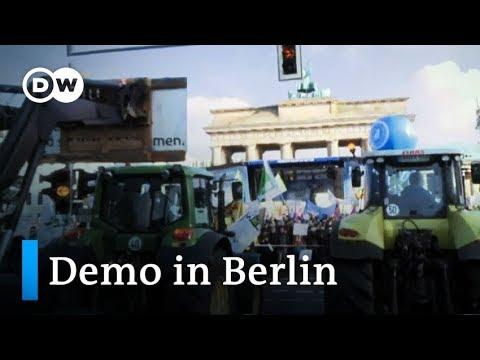 Wir Haben Es Satt! - Demo Für ökologische Landwirtschaft In Berlin | DW Nachrichten