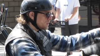 Sons of Anarchy filming in Montrose 6/6/14