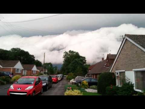 Seriously Weird Weather Storm Clouds in Lyminge (UK) Part 1