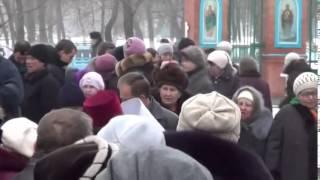 ЛНР , село Голубовка звон колоколов