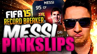 SPECIAL RECORD BREAKER SIF MESSI FIFA 15 PINK SLIPS!!