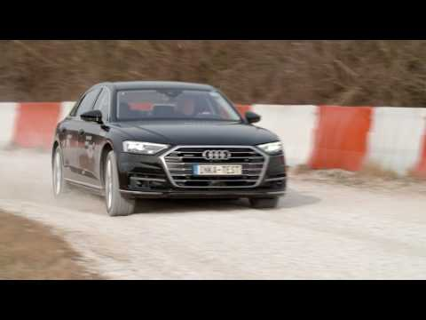 Audi's 2018 A8 - Development Footage