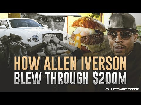Allen Iverson Tragedy: From Making $200,000,000 To Not Affording A Burger