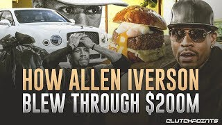 Download Allen Iverson Tragedy: From Making $200,000,000 To Not Affording A Burger Mp3 and Videos