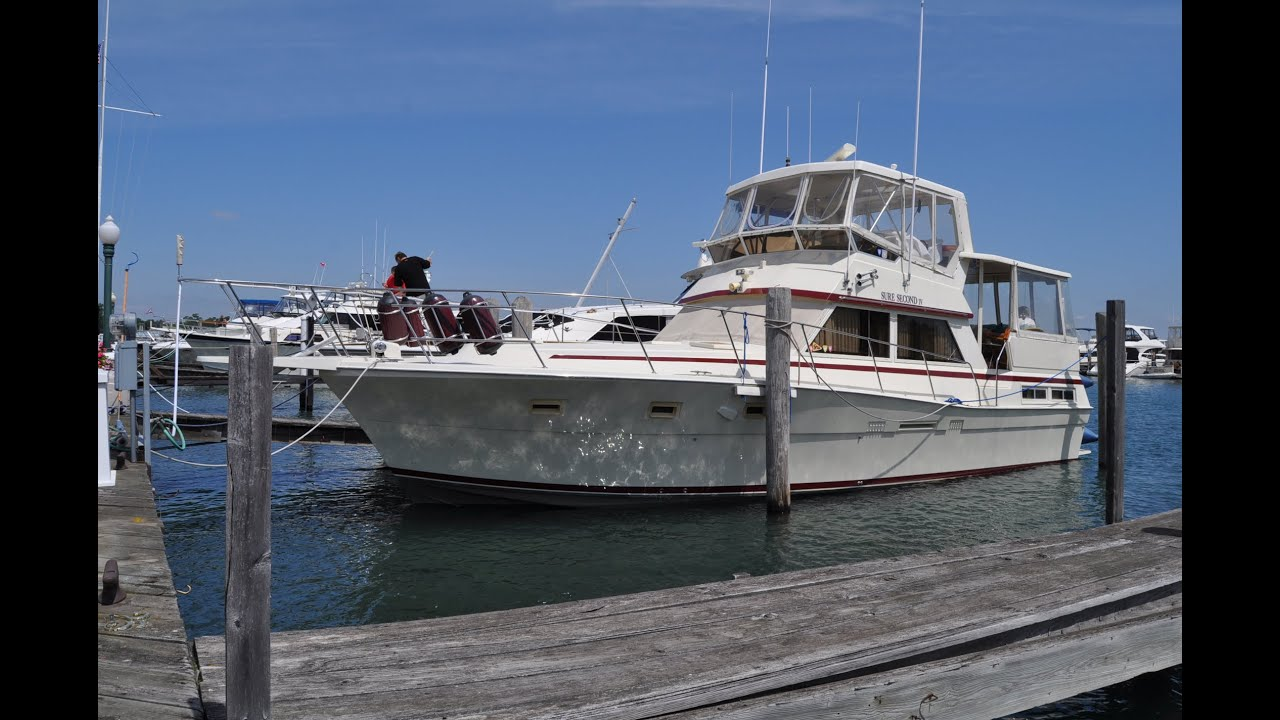 1982 Viking 44 Motor Yacht Sold Youtube