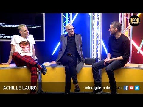 ACHILLE LAURO 🎭 BOSS DOMS LIVE SU HIP HOP TV 👊🏻📲
