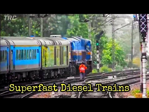 [10 in 1] Diesel Trains on Electric Lines:...