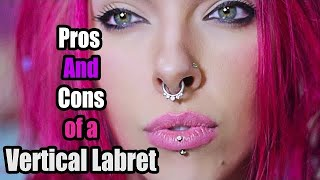 Vertical Labret PIERCING EXPERIENCE