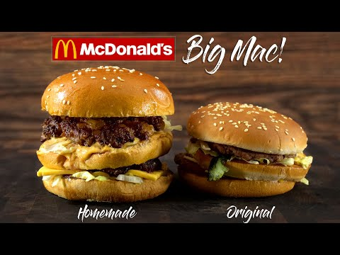 GUGA FOODS MADE A CRAZY MCDONALDS BIG MAC