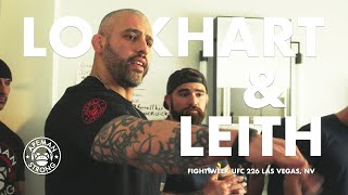 UFC Weight Cut Specialists Lockhart & Leith