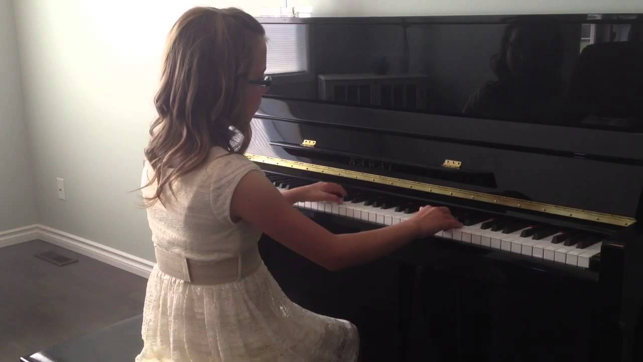Royal Conservatory Grade 5 Piano - YouTube