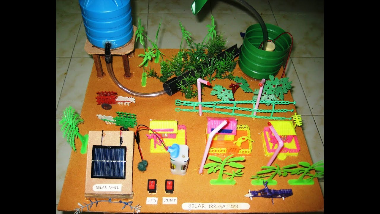 Solar irrigation v2 0 youtube for Solar energy projects for kids