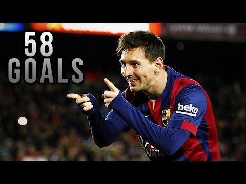 • Lionel Messi ? All Goals ? 2014/2015 • HD •