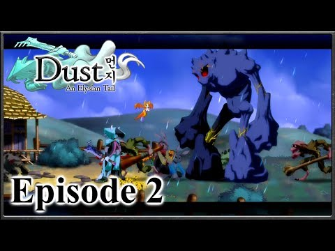 Dust: An Elysian Tail - A Mysterious Merchant & The Giant Attack - Episode 2