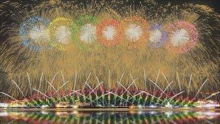 FWsim Mount Fuji Synchronized Fireworks Show2 thumbnail