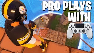 Killing Pro PC Players with Controller - Fortnite Pro League Gameplay