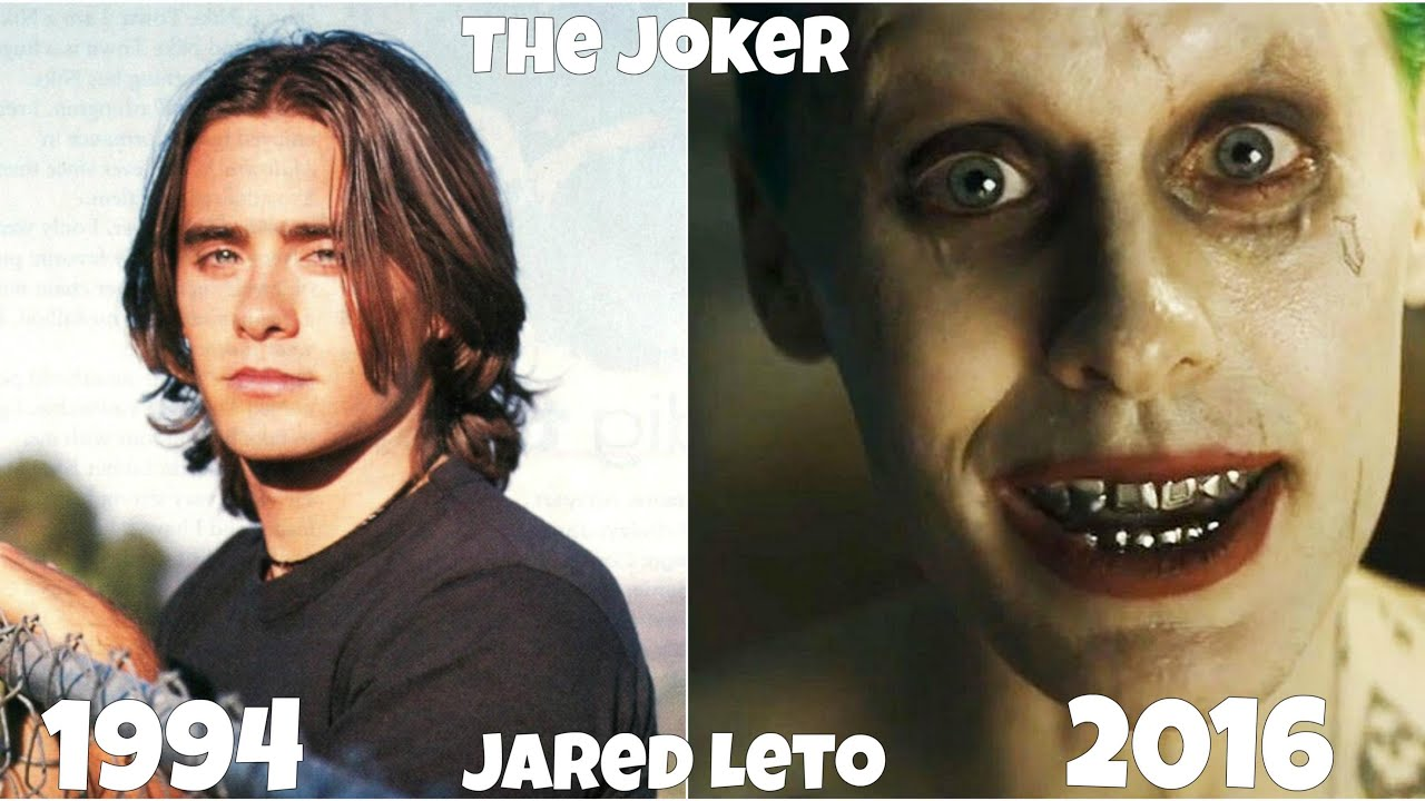 suicide squad movie actors exposed, before and after they were