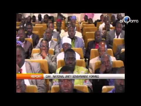 CAR: National Unity Government Formed