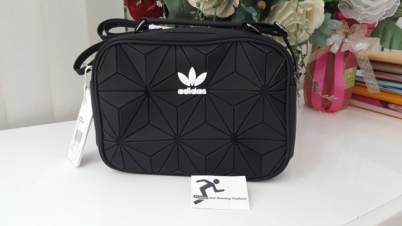 fa55202f6719a9 Adidas Mini AirLiner Bag. - YouTube