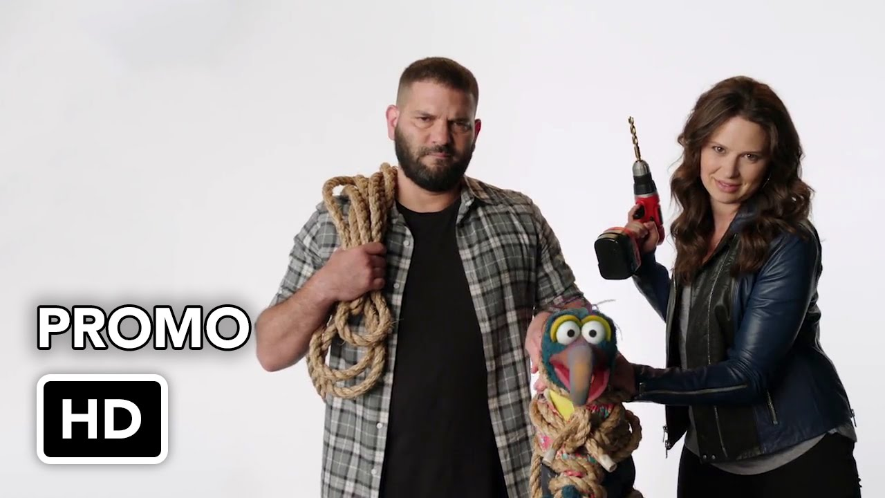 "The Muppets (ABC) ""Katie Lowes and Guillermo Diaz Torture Gonzo"" Promo HD"