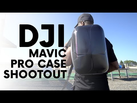 DJI Mavic Pro Case Shootout