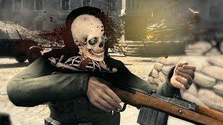 Sniper Elite V2 Gameplay PC - Brutal Kills & X-Ray KillCam