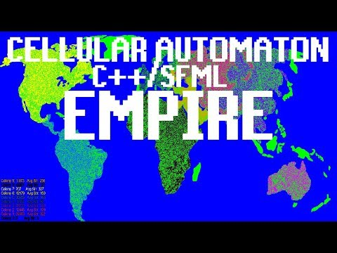 "Creating ""Empire"" Cellular Automaton in C++/SFML"