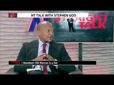 Straight Talk with Sifiso Mahlangu: Former SARB director Stephen Goodson
