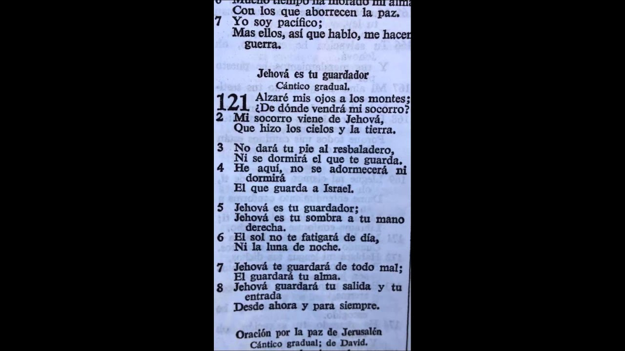 Salmo 121 - YouTube