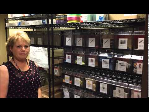 Supply Room Kanban System