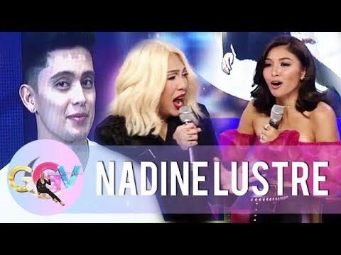Kuryentanong with Nadine Lustre | GGV