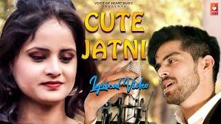 Cute Jatni (Lyrical ) Masoom Sharma  New Haryanvi Songs Haryanavi 2019  Vohm