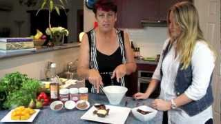 Mango Cream Desserts Cooking Demo